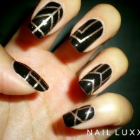 The Great Gatsby Inspired Nails