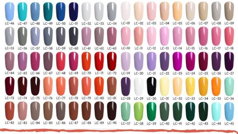 cute nail colors