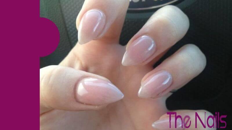 Short Almond Shaped Nails