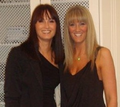 Lisa and Lyndsey - owners of The Nails Place Thornton