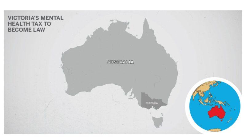 Map of Victoria Australia