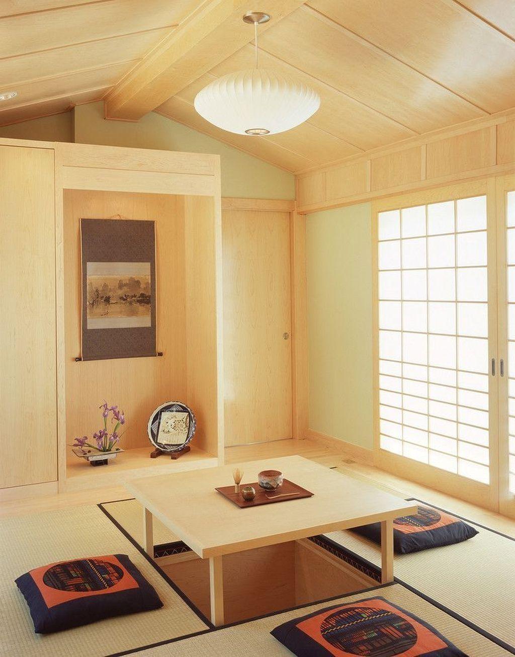 Japanese Living Room Inspiration, Japanese Living Room