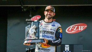 FLW-Tour-pro-Casey-Scanlon-holds-up-his-trophy-after-winning-the-FLW-Tour-on-Lake-Champlain-presented-by-T-H-Marine.-Kyle-Wood