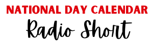 Logo for National Day Calendar Radio Short
