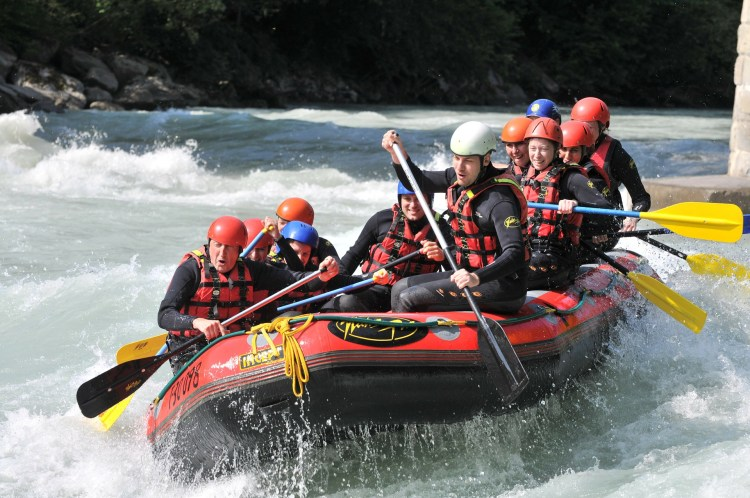 Whitewater rafters - Klamath National Forest is a top destination for this.