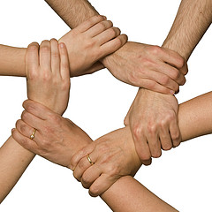 hands network from flickr