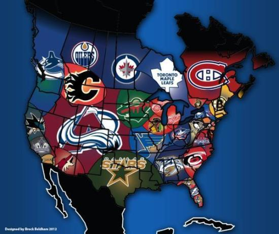 NHLMap