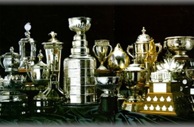 NHL-Trophies