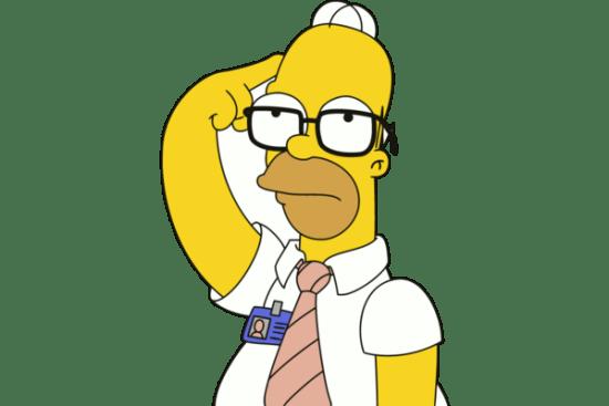 Homer Thinking