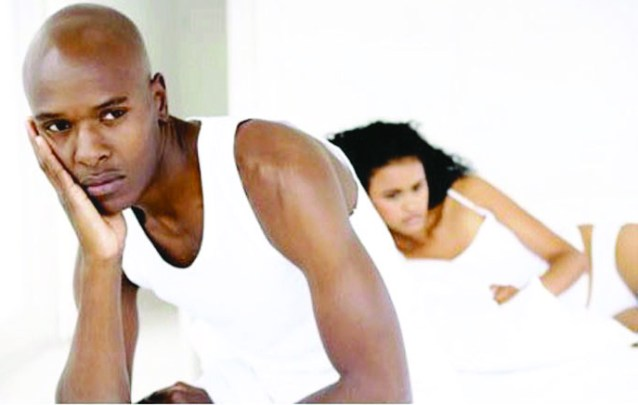 Erectile dysfunction can cause tension in a relationship
