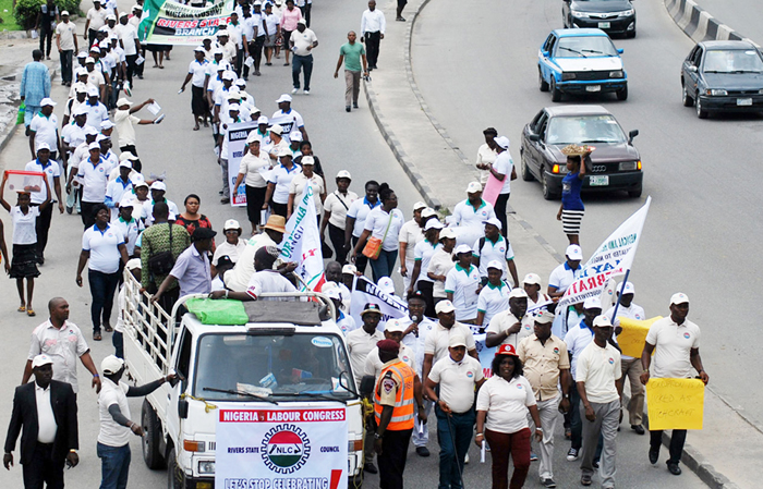Image result for workers strike nigeria