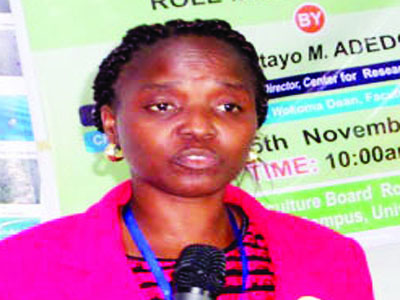 Mushroom expert sensitises youths, women
