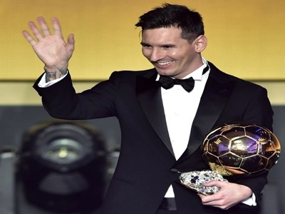 Messi: Great to lift Ballon d'Or again