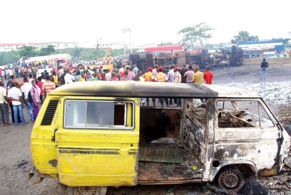 Double accident on Lagos/Ibadan expressway, claim over 15 lives