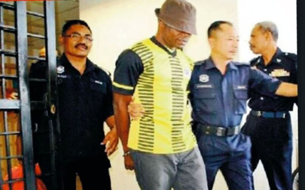Nigerian footballer executed in Singapore for drug trafficking