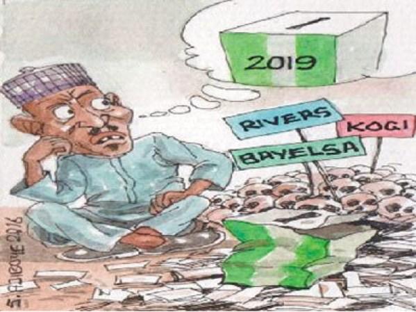Buhari's worries over 2019 polls