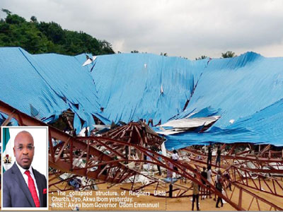 How Gov escaped death in  church building collapse