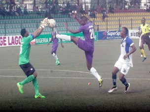 Stephen Odey eyes NPFL Goal King crown