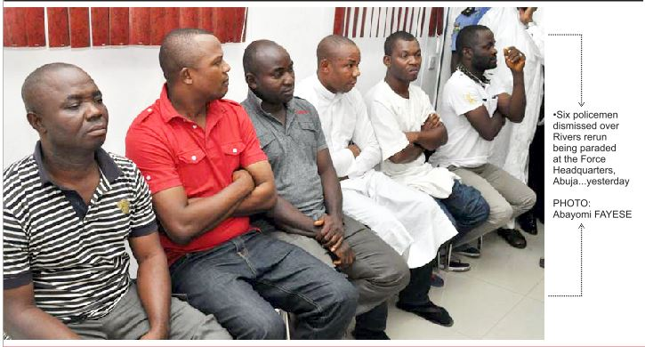 Rivers rerun: Six Wike's police aides dismissed