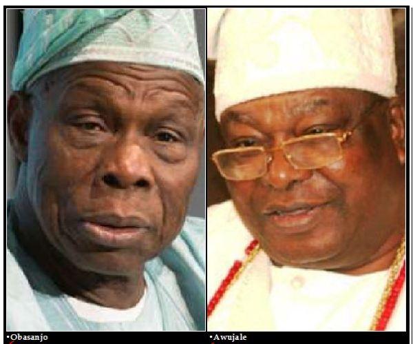 Obasanjo: Awujale lied about Adenuga, Dangote
