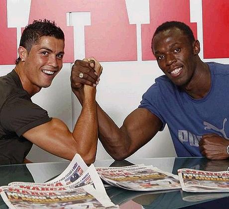 Ronaldo battles Bolt in Laureus World Sportsman award