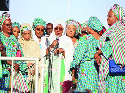 Aisha to womenfolk: Vote Buhari as you did in 2015