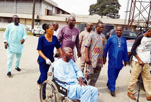 Image result for Baba suwe BABA SUWE FINALLY MEETS BENEFACTOR WHO GAVE HIM 10MILLION NAIRA (SEE DETAILS) BABA SUWE FINALLY MEETS BENEFACTOR WHO GAVE HIM 10MILLION NAIRA (SEE DETAILS) Babasuwe on wheelchair