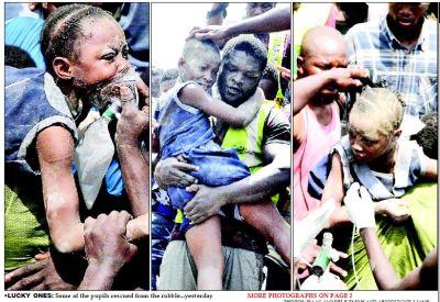 18 die, 41 injured in Lagos Island building collapse