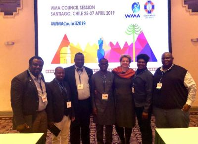 BREAKING: Dr. Enabulele becomes first Nigerian elected WMA Standing Committee chairman