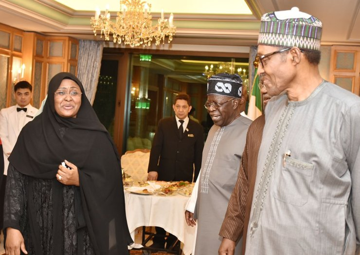 Image result for tinubu, buhari saudi arabia see!!! the real reason tinubu stormed saudi arabia, to meet with buhari SEE!!! THE REAL REASON TINUBU STORMED SAUDI ARABIA, TO MEET WITH BUHARI Tinubu 1