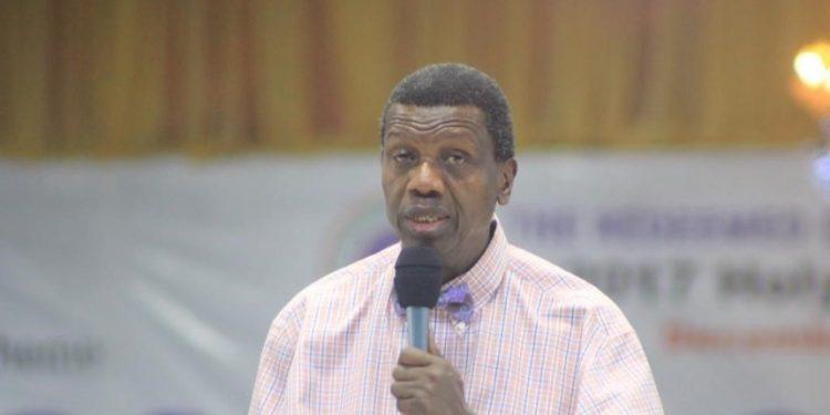 Run from evil, Adeboye advises youths