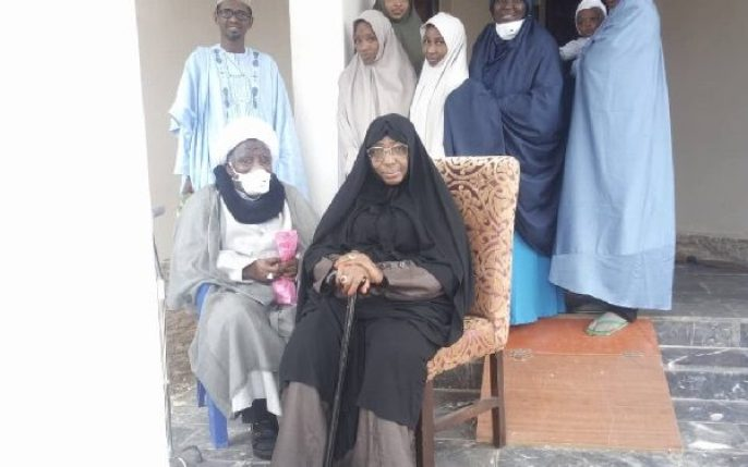 El-zakzaky and wife