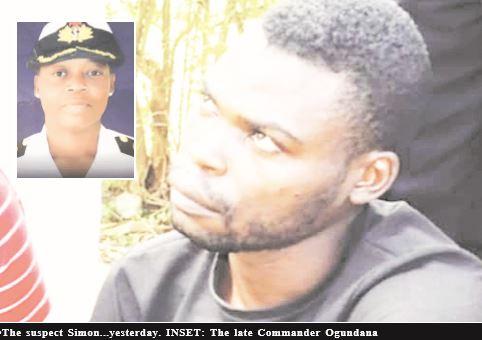 How I killed Navy Cdr. Ogundana, by suspect