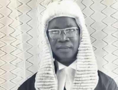 Justice Jinadu is dead