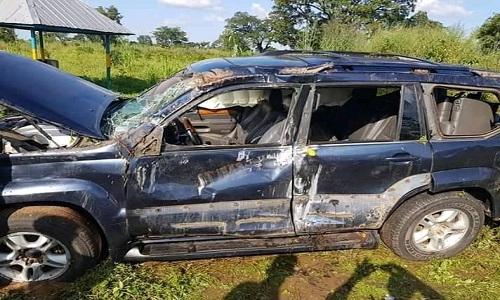 Benue APC chieftain escapes death in auto accident