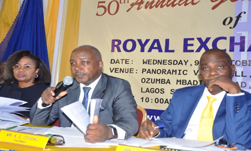 Royal Exchange records N215.3m loss - The Nation Newspaper