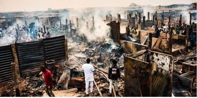 N500m goods, cash destroyed as fire guts Sagamu market