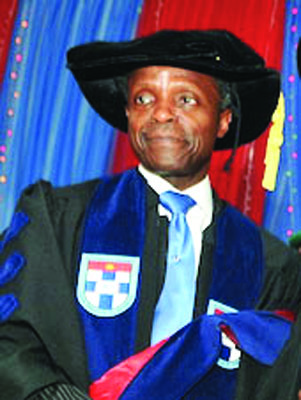 Osinbajo to young individuals: let no one tell you about good old days