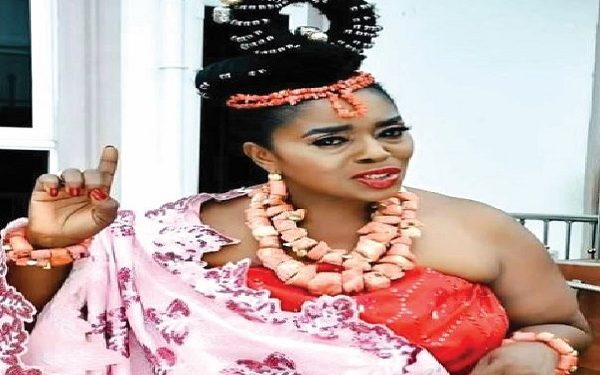 Rita Edochie's husband absent at daughter's wedding