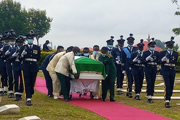 Breaking News | PHOTOS: Arotile's body arrives Military cemetery ...