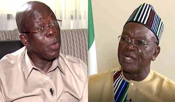 Court fixes October 13 to hear Ortom, Oshiomhole libel suit