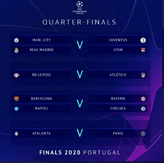 UEFA champions league quarter-finals draw: Barcelona may face Bayern Munich
