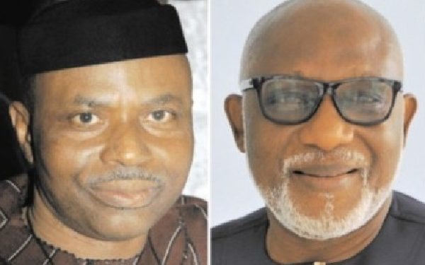 Ondo 2020: Akeredolu blasts Mimiko for abandoning projects