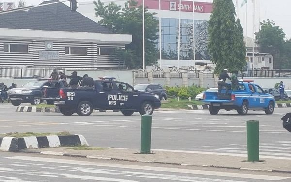 Dozens of #RevolutionNow protesters arrested in Abuja