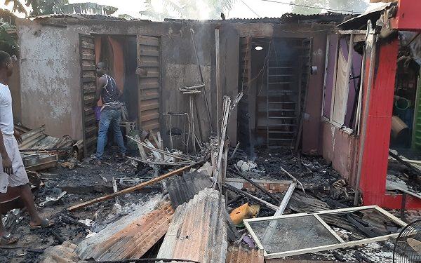 PHOTOS: Gas explosion wrecks havocs in Lagos