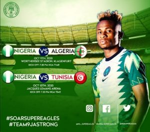 Nigeria-Algeria friendly