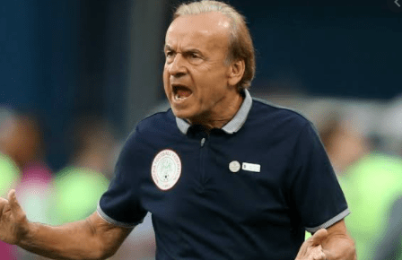 Under-fire Rohr gets fresh support to lead Eagles