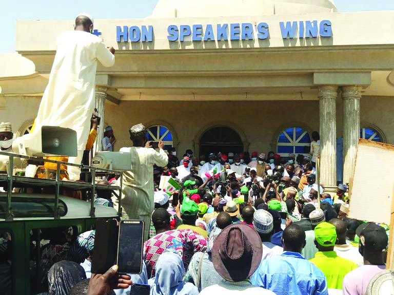 Labour protest in Kano