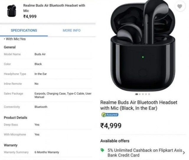 Realme Buds Air Vs Apple Airpods Heres Everything You Need To
