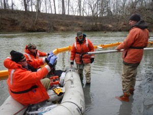 US Fish&Wildlife survey Dan River for coal ash pollutants